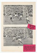 RAY WOOD MANCHESTER UNITED 1949-1958 RARE ORIGINAL SIGNED (TWICE) PICTURE