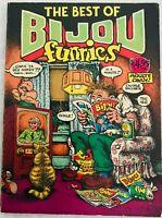Best of Bijou Funnies Robert Crumb Art Spiegelman Jay Lynch Skip Shelton 1st VF