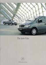 Mercedes-Benz Vito 2003-04 UK Market Brochure Panel Van Dualiner Traveliner