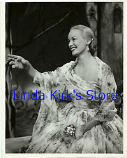 """Faye Emerson Promotional Photograph Seated """"First Lady Of Television"""" TV 1950"""