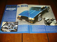 1987 BUICK GRAND NATIONAL 11-SECOND 1/4 MILE ORIGINAL 2006 ARTICLE