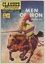 Classics Illustrated #88 October 1951 Vg Men of Iron