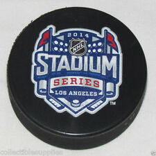 Lot of 10 pucks 2014 NHL Stadium Series Los Angeles Sherwood Souvenir Game Pucks