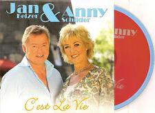 JAN & ANNY - c'est la vie CD SINGLE 2TR CARD 2010 BZN