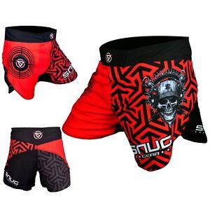 MMA Kickboxing Hybrid Fighting Shorts Grappling Flex Fight UFC BJJ Mens Unisex