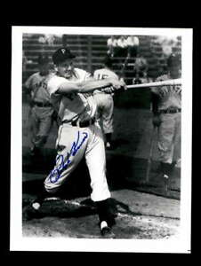 Ralph Kiner Hand Signed 8x10 Photo Autographed Pittsburgh Pirates
