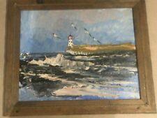 Painting of sea by Morris Katz