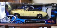 MAISTO #31684 1967 CHEVROLET CAMARO RS/SS 396 CONVERTIBLE