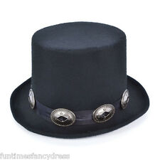 Anni 1980 SLASH GUNS N ROSES CHITARRA Rocker Rock Star Top Hat Costume