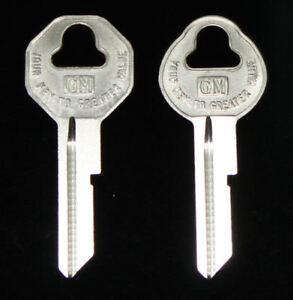 Chevrolet Corvette Key Blanks 1955 1956 1957 1958 1959 1960 1961