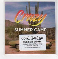 (FC971) Summer Camp, Crazy - 2014 DJ CD