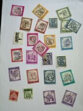 Castles and Buildings Stamps - 15 postal stamps set