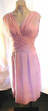 50s Dusty Pink Cocktail Wedding Party Dress
