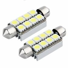 2 un. CANBUS FESTOON 8 SMD LED 211 C5W lámpara plafón BT 43 mm