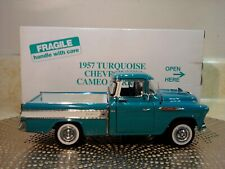 Danbury Mint 1957 Chevy Cameo Carrier Pickup.1:24.Rare Color.Nib.Undisplayed.New
