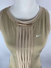 NIKE Dress FIT DRY Womens Medium Athletics Golf Tennis Sleeveless W/ Ruffles