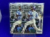 2020 TOPPS UPDATE RANDY AROZARENA LOT OF 2 ROOKIE CARDS RAYS
