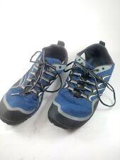 MERRELL Mens Trail Glove Olympia Barefoot Minimalist Running Sneakers US 10 Blue