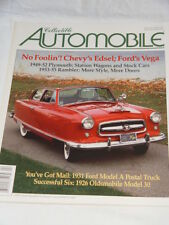 Collectible Automobile Magazine April 2000 Vol 16 - No 6