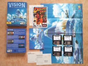VISION THE 5 DIMENSION UTOPIA    PC DOS 3,5 Disk Version  deutsch  USK 18 #