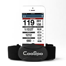 Bluetooth 4.0 Fit Heart Rate Monitor + Chest Strap  for iPhone/iPad Black