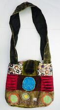 T421 FASHION TRENDY SHOULDER STRAP COTTON BAG  MADE IN NEPAL