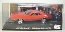 James Bond 007 Collection 1/43 Mustang Mach 1 Diamonds are forever in Box #5657
