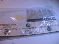 Allen-Bradley Resistor 20 Ohm 20R 1/2W 5% RC20GF200J Carbon Composition Qty 25