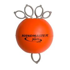 HANDMASTER PLUS Orange FIRM Hand, Forearm & Wrist Exerciser ALL IN ONE Free Ship