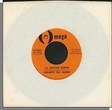 """Conjunto Del Barrio - El Mentado Ramiro + Linda Rosa - 7"""" 45 RPM Single!"""