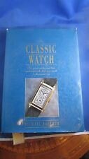 ancien livre catalogue horlogerie montre bracelet classic watch michael balfour
