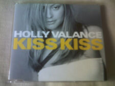 HOLLY VALANCE - KISS KISS - UK CD SINGLE