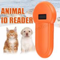Scanner RFID 134.2Khz cane animale Microchip Identificativo lettore palmare