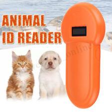 Scanner RFID 134.2Khz cane animale Microchip Identificativo lettore palmare ISO