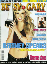 Magazine BETSY & GARY n°18, Britney SPEARS, BUFFY, ANGEL, Angelina JOLIE, ROMEO
