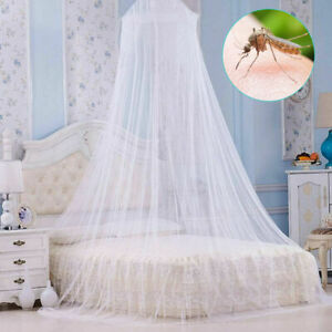 Dome Baby Mosquito Net Canopy Bed Netting Mesh Princess Bedding Cover Fly Insect