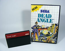 DEAD ANGLE pour Sega Master System-SMS Module + neuf dans sa boîte sans instructions jeu Angel