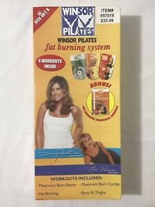Winsor Pilates Fat Burning System, Sculpt Your Body Slim New And Sealed Set.