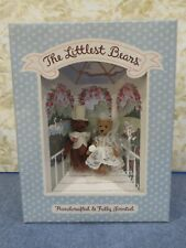 Gund The Littlest Bears #7009 Bride & Groom 3 Inches Fully Jointed Perfect - New