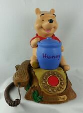 Telemania Disney Winnie The Pooh Animated Telephone Piglet Collectible Vintage