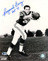 RAYMOND BERRY SIGNED AUTOGRAPHED 8x10 PHOTO BALTIMORE COLTS LEGEND BECKETT BAS