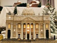 "Dept 56, ""St. Peter's Basilica, Rome"", #57602, XTREMEly rare and beautiful"