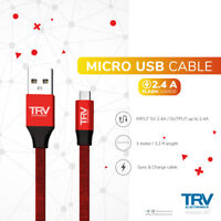 Fast Charger Micro USB Cable Data Sync Cable Cord For Samsung LG HTC Android