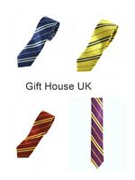 HARRY POTTER STYLE HOUSE TIES WORLD BOOK DAY FANCY DRESS PARTY COSTUME REPLICA 3