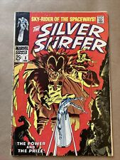 Silver Surfer #3 1st Appearance of Mephisto (Marvel 1968)