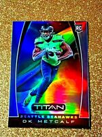 2019 Panini Chronicles DK Metcalf Titan Rookie Refractor Silver Prizm Holo T17