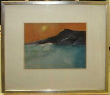 Donald Hamilton Fraser Abstract Coastal Landscape Important British Modernist