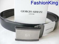 Authentic Giorgio Armani Leather Belt...large...new style....GA3806