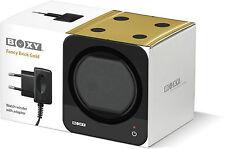 Uhrenbeweger Boxy Fancy Brick Gold inkl Netzadapter by Beco (Verpackungsschaden)