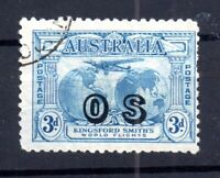 Australia 1931 3d Kingsford Smith OS used Official #0124 WS16353
